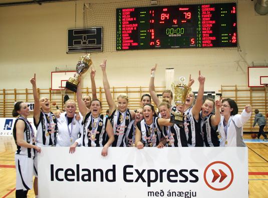 Iceland Express-deildin: KR Íslandsmeistari kvenna 2010